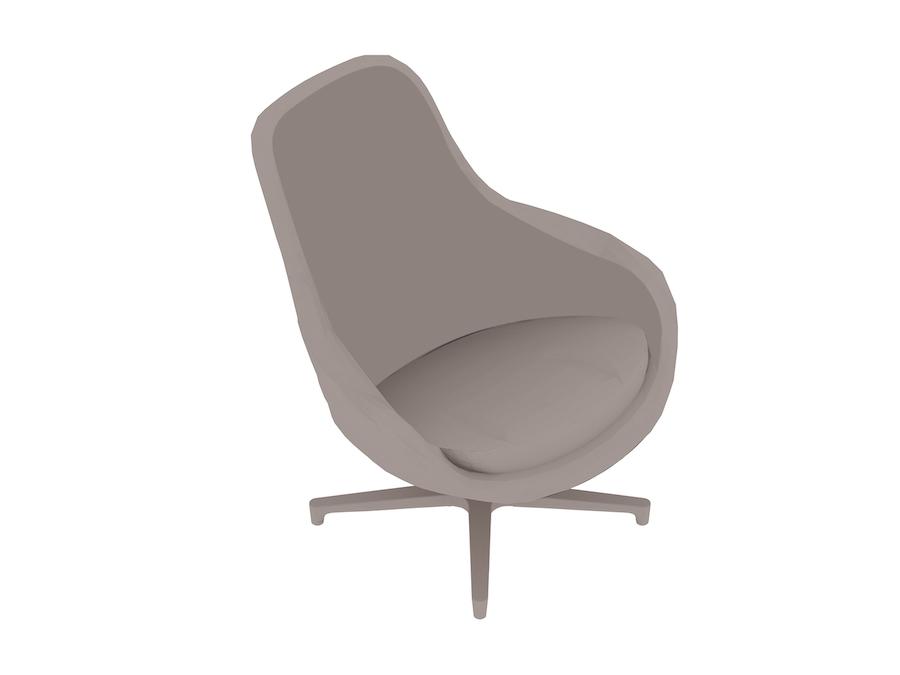 Lage Lounge Stoel.Saiba Fauteuil 3d Productmodellen Herman Miller