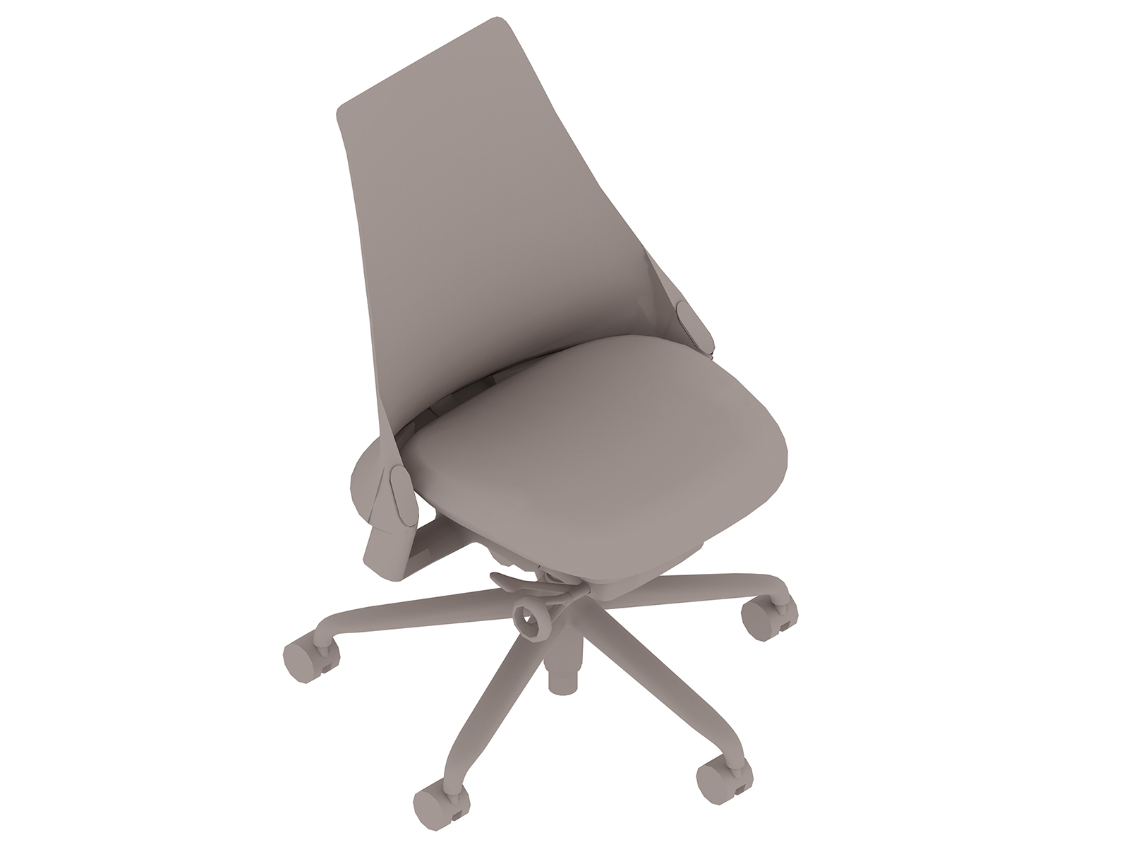 A generic rendering - Sayl Chair–Suspension Mid Back–Armless