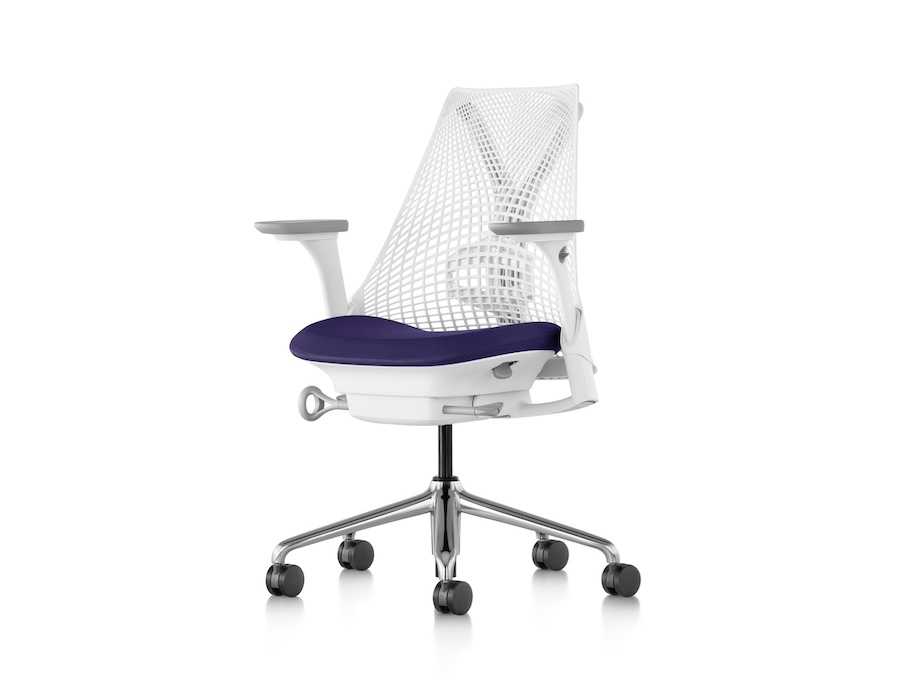 A photo - Sayl Chair–Suspension Mid Back–Fully Adjustable Arms