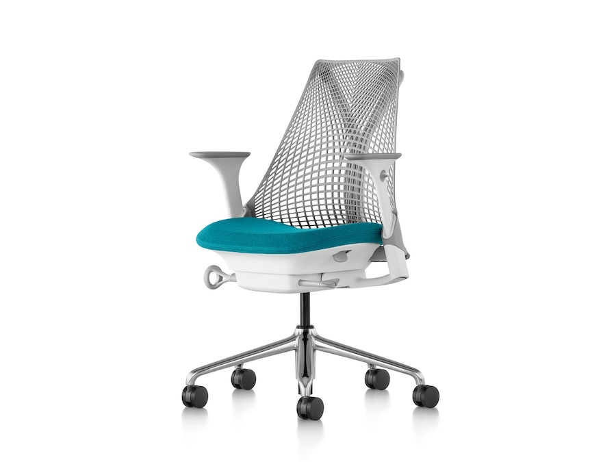 A photo - Sayl Chair–Suspension Mid Back–Height Adjustable Arms