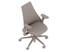 A generic rendering - Sayl Chair–Upholstered High Back–Fully Adjustable Arms