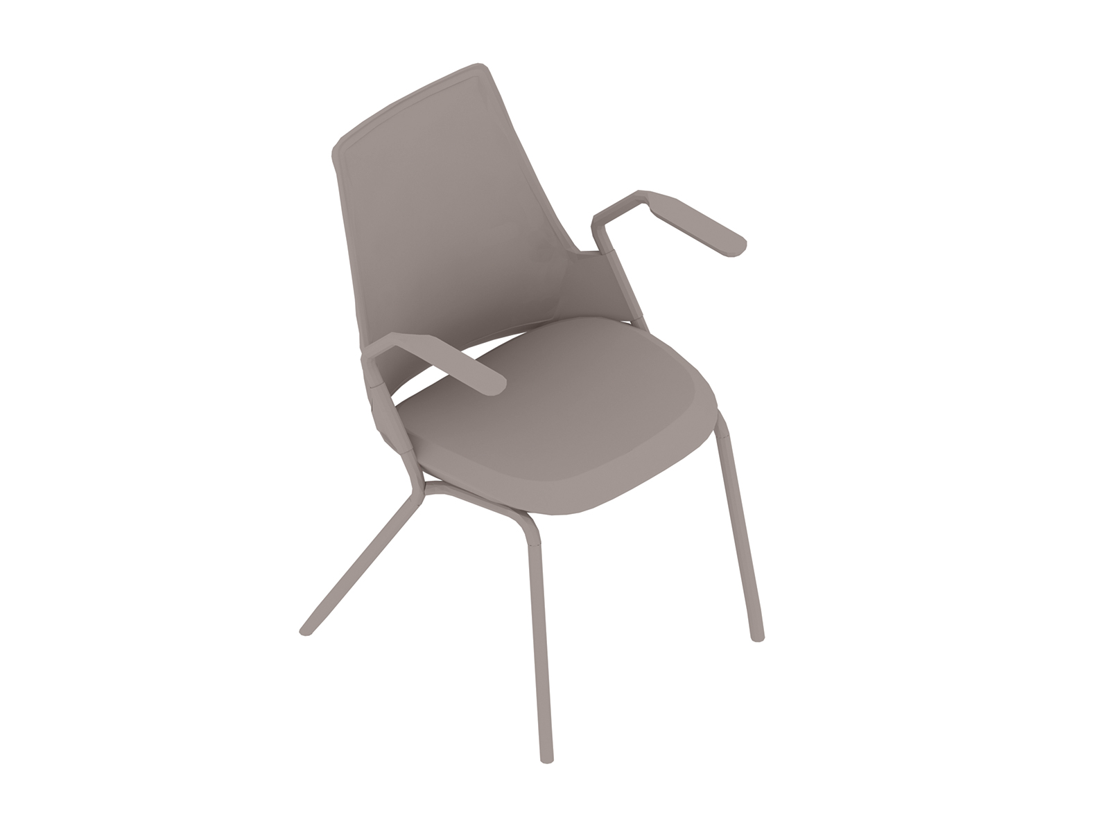 A generic rendering - Sayl Side Chair–4-Leg Base