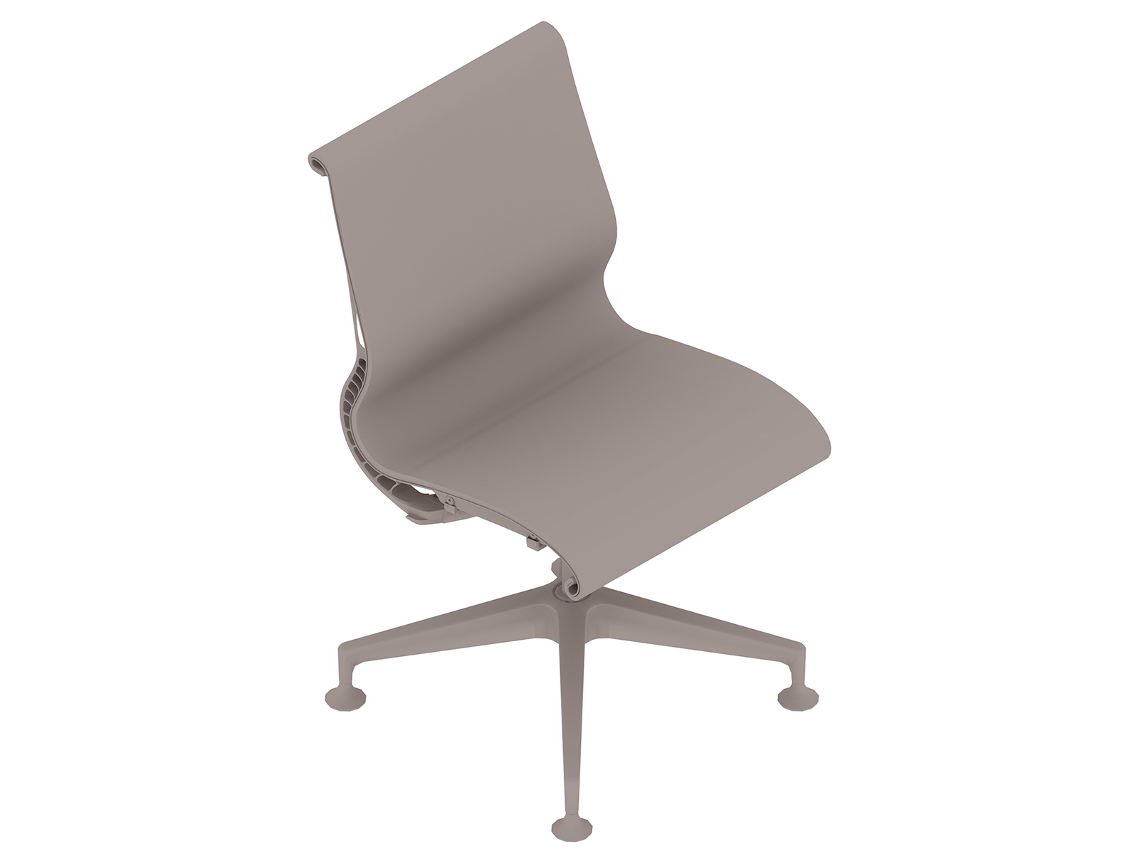 A generic rendering - Setu Chair–4-Star Base–Armless