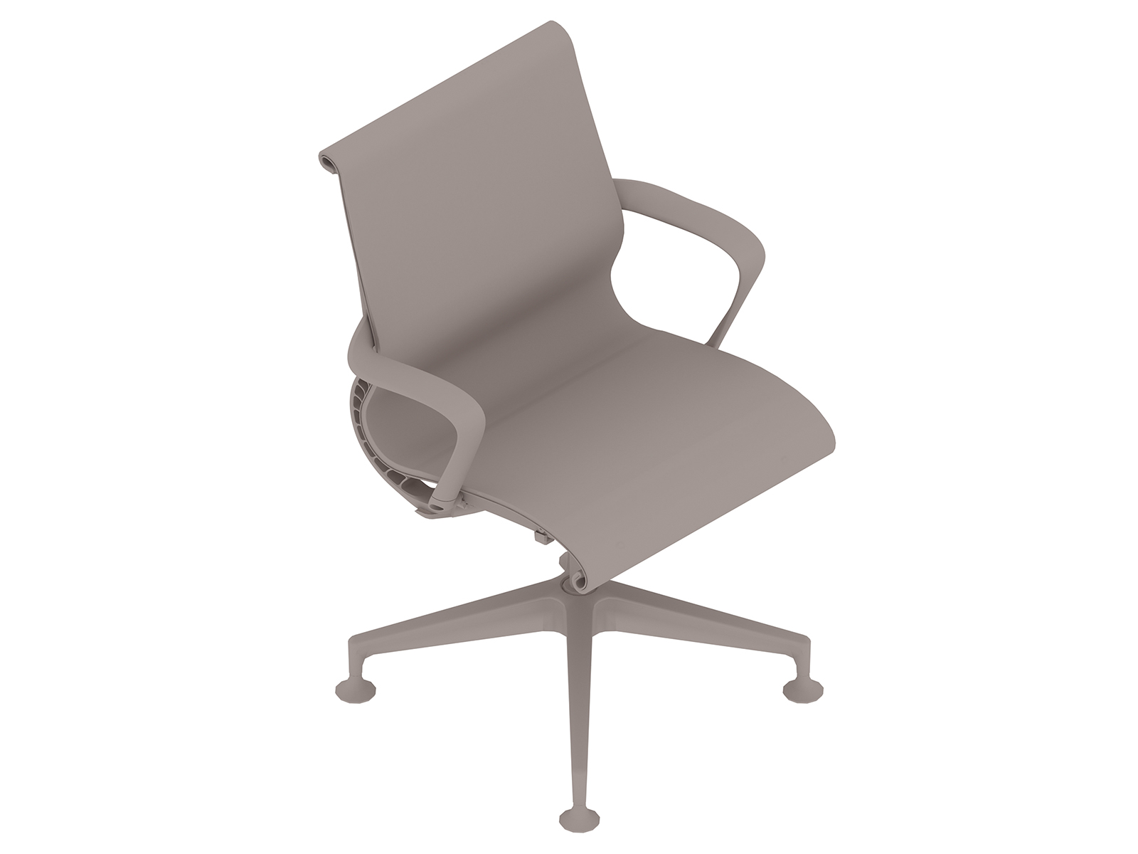 A generic rendering - Setu Chair–4-Star Base–Ribbon Arms