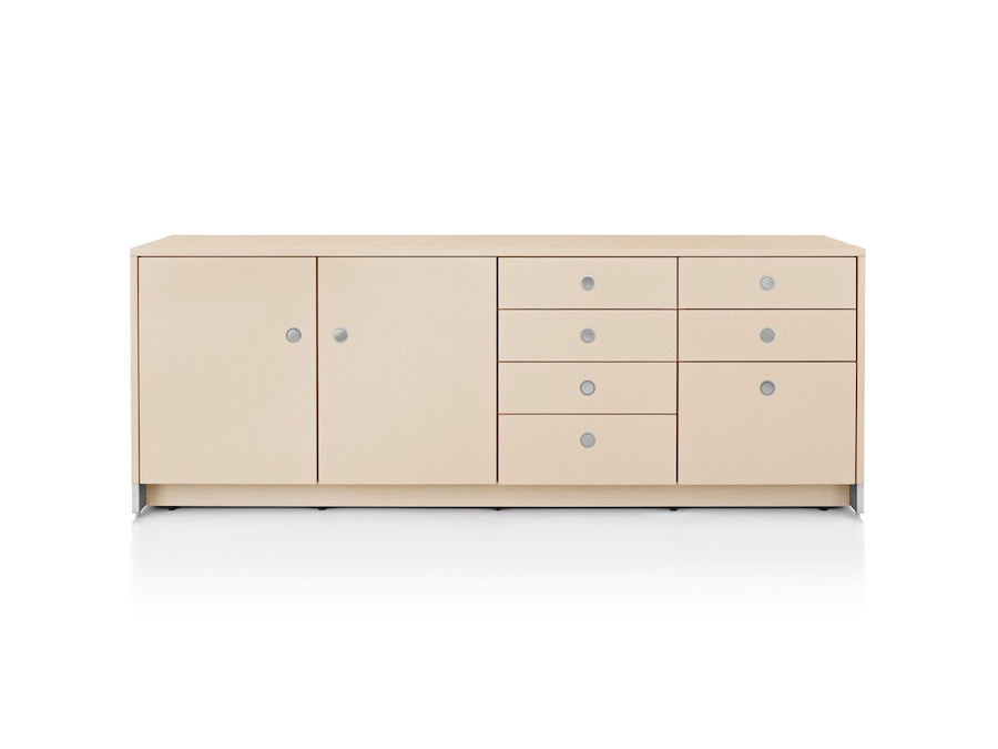 A photo - Sled Base Credenza–4 Units Wide