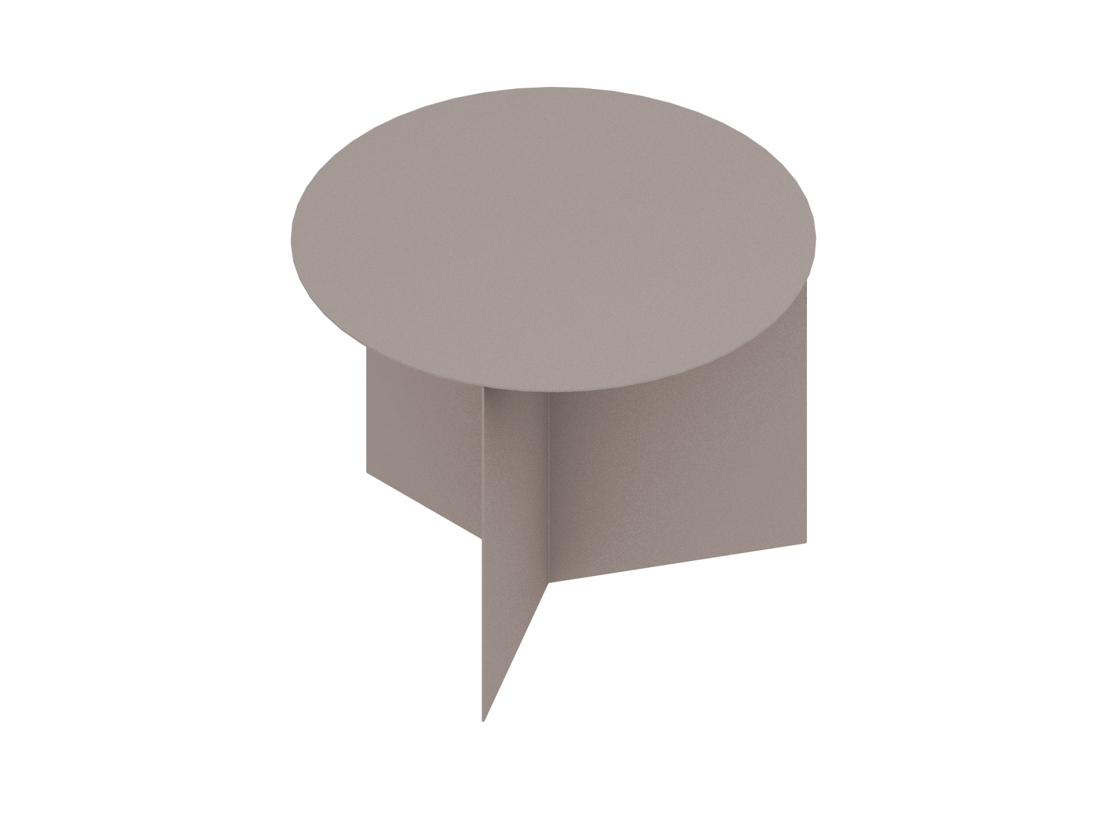 A generic rendering - Slit Table–Round