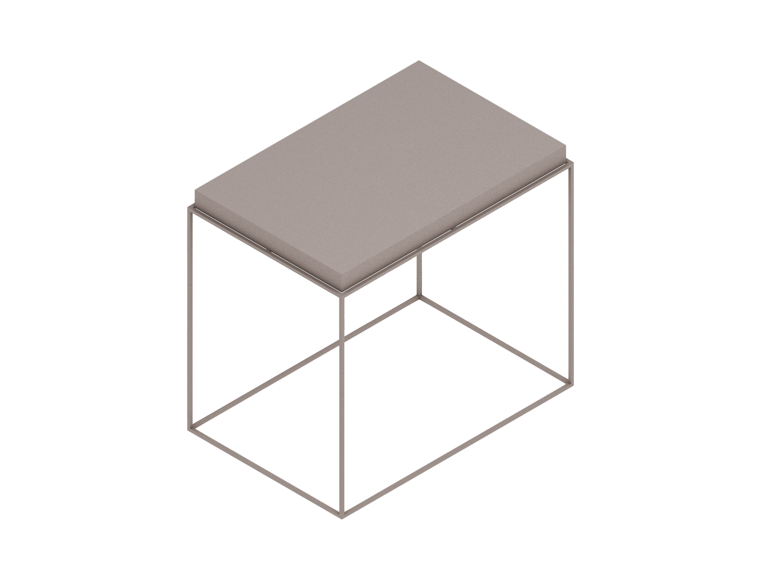 A generic rendering - Tray Side Table–Rectangular