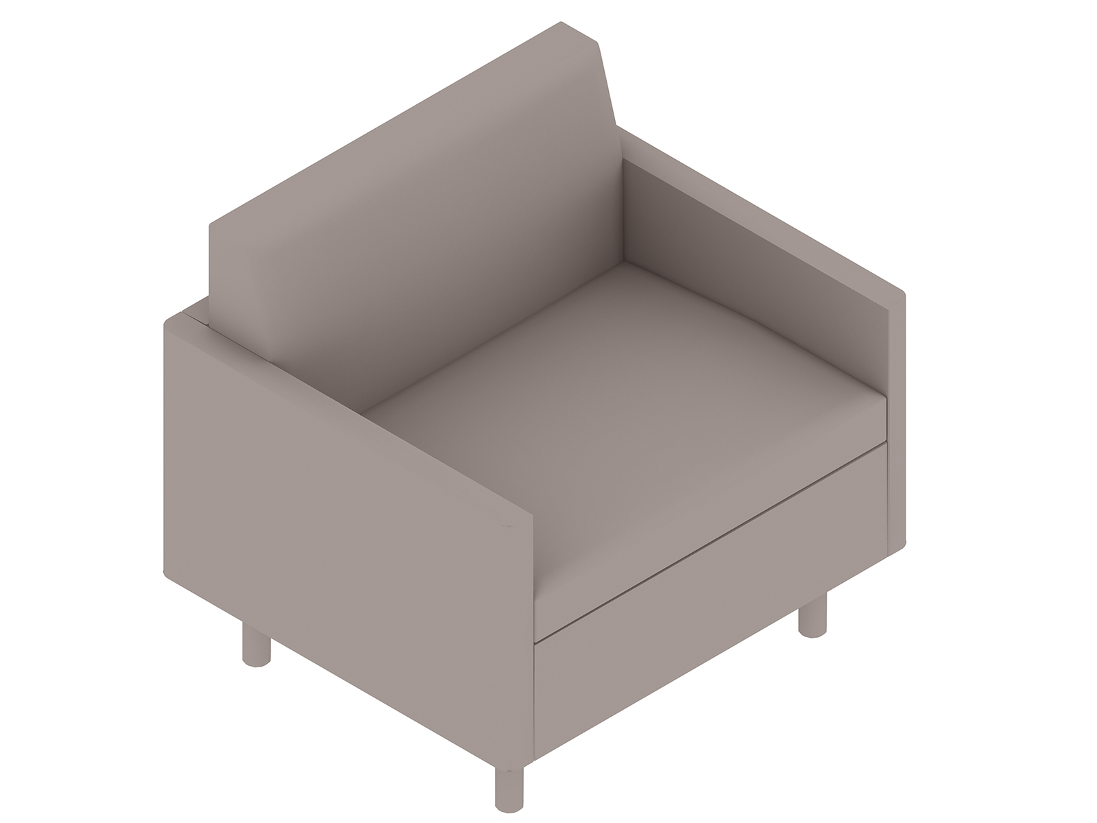 A generic rendering - Tuxedo Classic Club Chair