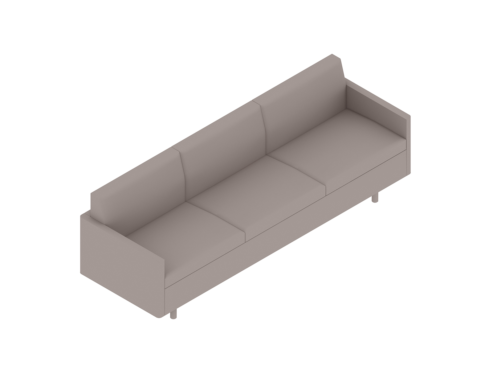 A generic rendering - Tuxedo Classic Sofa–With Arms