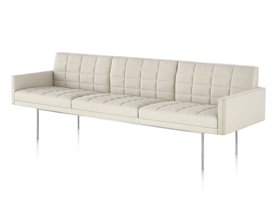 A photo - Tuxedo Component Sofa – With Arms