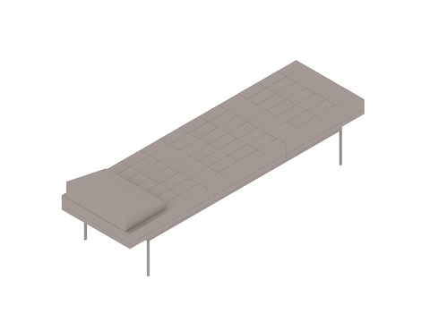 A generic rendering - Tuxedo Component Daybed