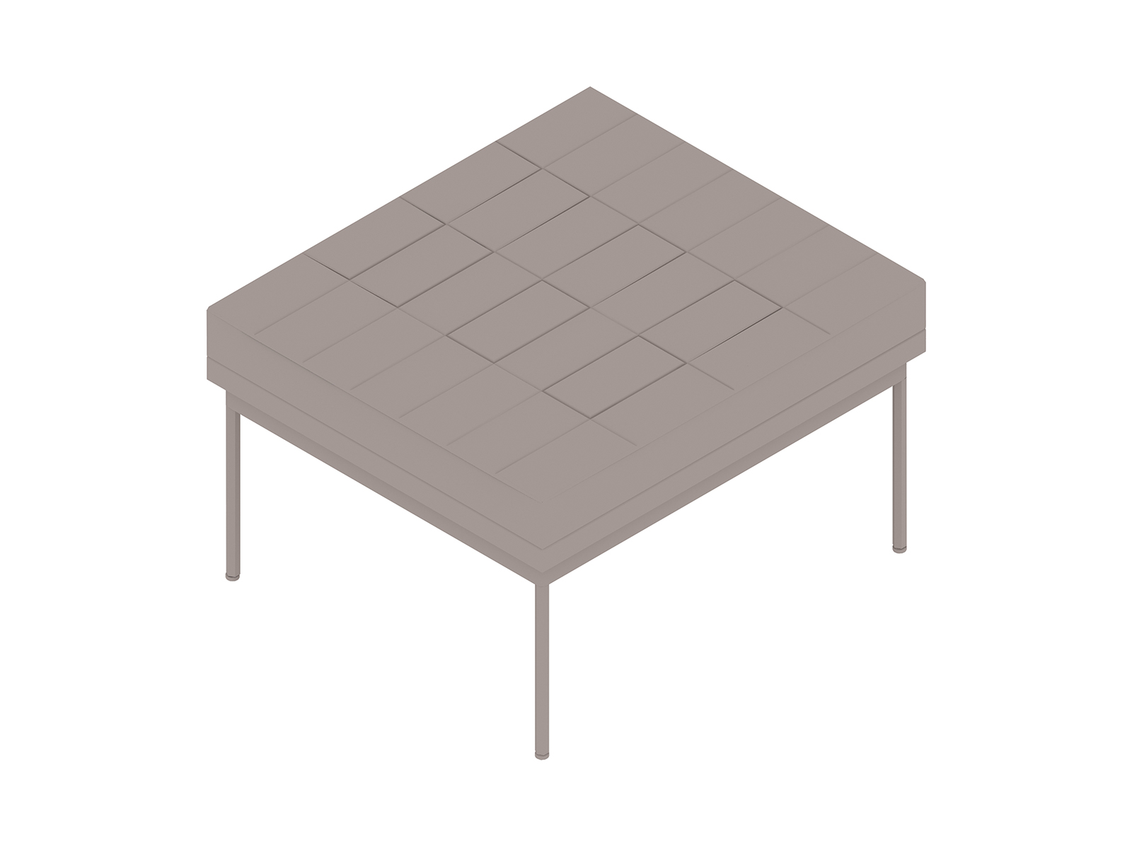 A generic rendering - Tuxedo Component Ottoman