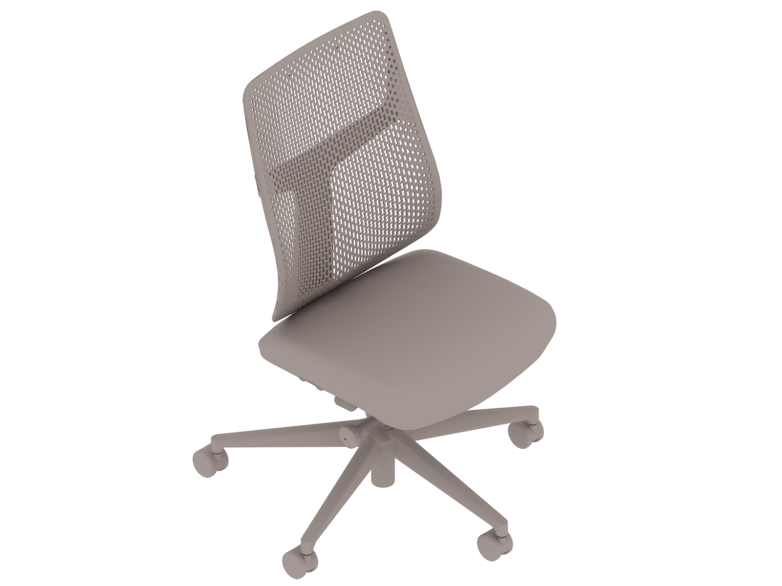 A generic rendering - Verus Chair–Polymer Back–Armless