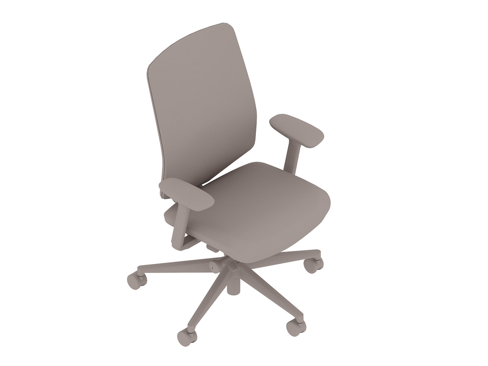 A generic rendering - Verus Chair–Suspension Back–Fixed Arms