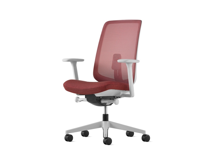 A photo - Verus Chair–Suspension Back–Fixed Arms