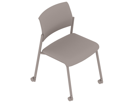 A generic rendering - Verus Side Chair–Suspension Back–Armless