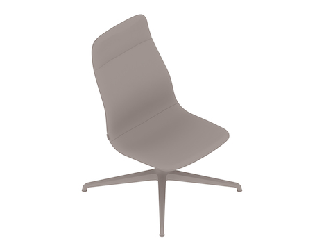 A generic rendering - Viv High-Back Lounge Chair–Armless