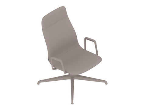 A generic rendering - Viv High-Back Lounge Chair–With Arms