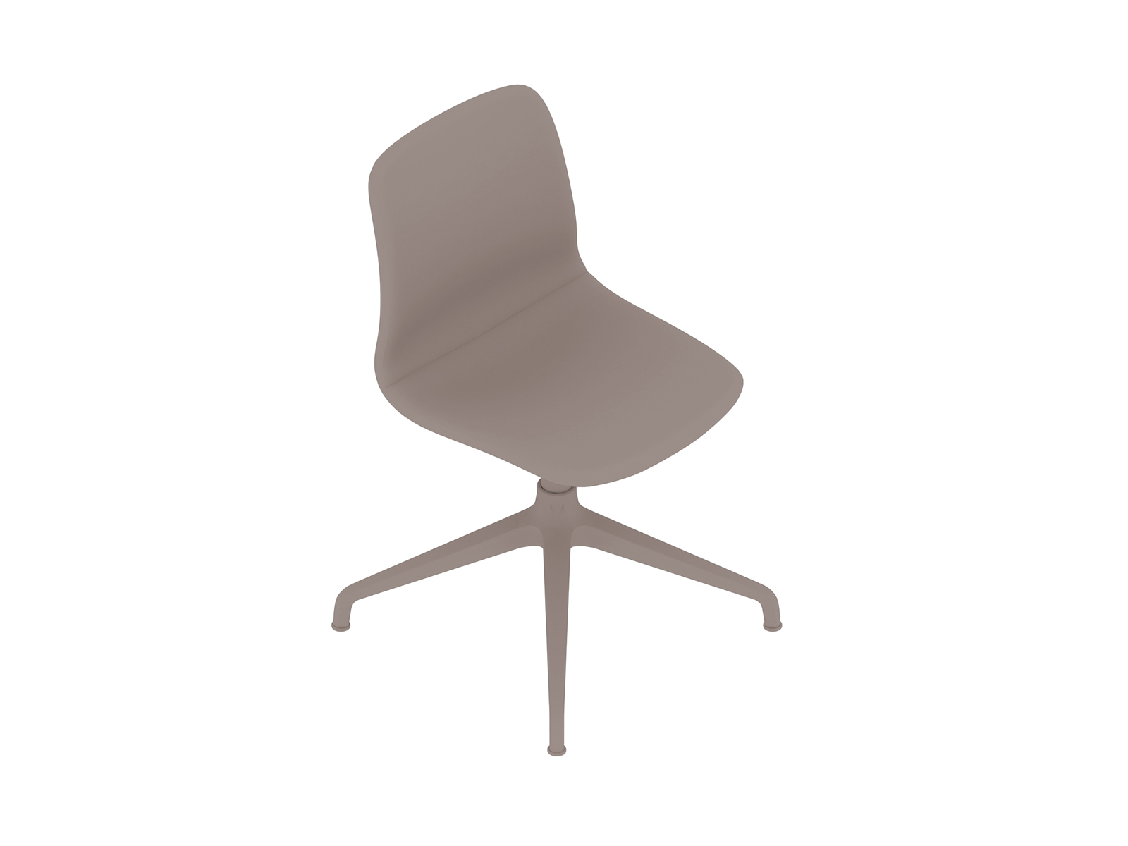 A generic rendering - Viv Side Chair–Armless–4-Star Swivel Base