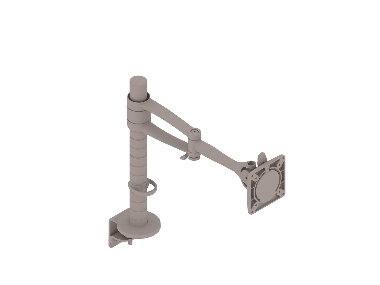 A generic rendering - Wishbone Monitor Arm