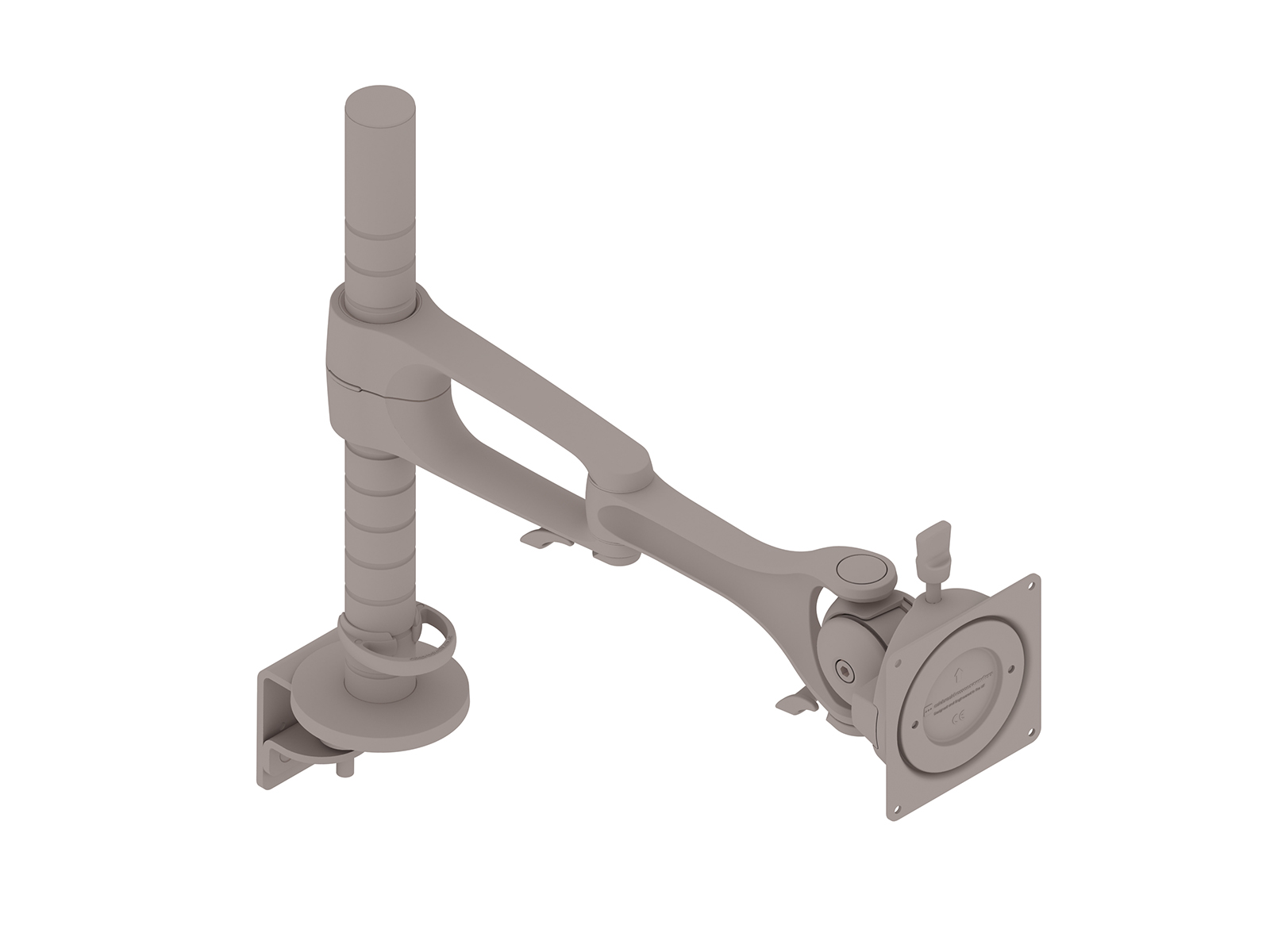 A generic rendering - Wishbone Plus Monitor Arm