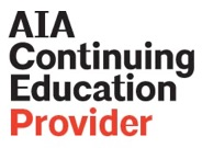 The American Institute of Architects logo with AIA in gray letters.