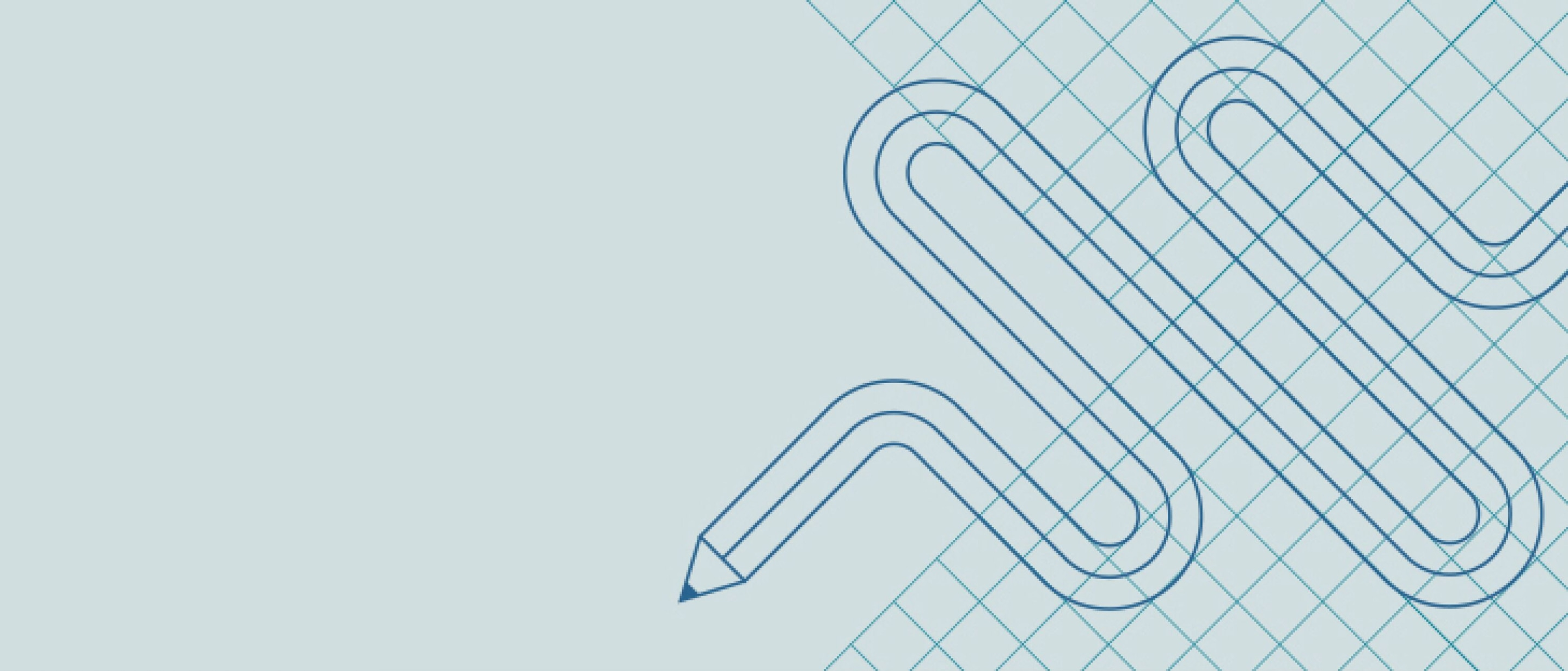 A stylized, blue and purple illustration of a book with pages turning.