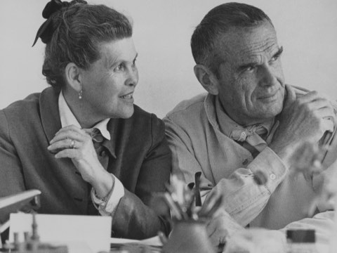 Designers Charles And Ray Eames Herman Miller