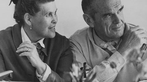 Designers Charles and Ray Eames