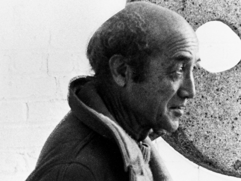 Select to learn more about Isamu Noguchi's products, design thinking, and awards.