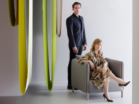 Product designers Stefan Scholten and Carole Baijings.