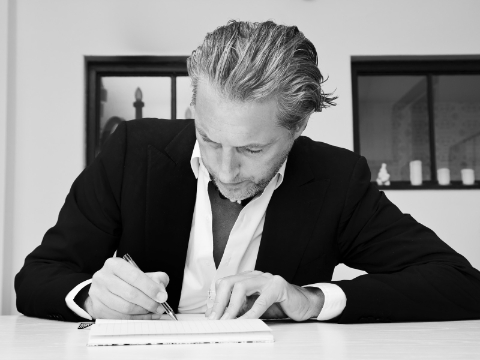 Select to learn more about Marcel Wanders' products, design thinking, and awards.