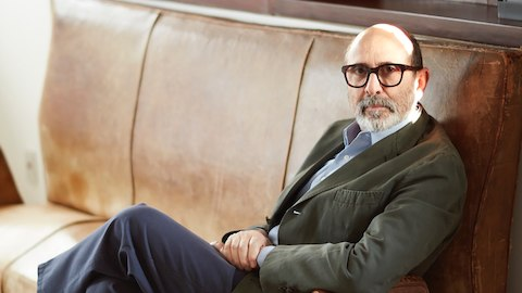 Portrait of Isay Weinfeld.