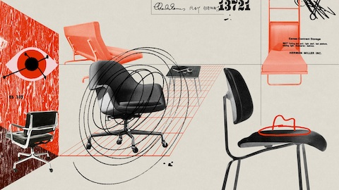 Six unknown Eames designs. Select to learn more.