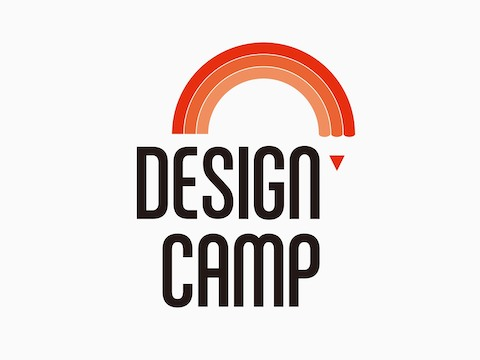 A logomark for Design Camp.
