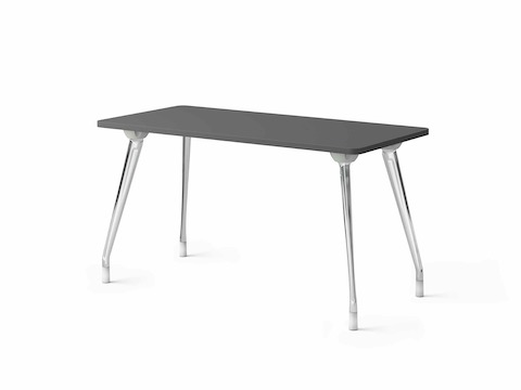 A single AbakEnvironments Desk with dark grey top.