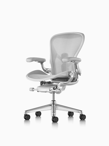 A Light Gray Aeron Chair. Select To Go To The Aeron Chairs Product Page.