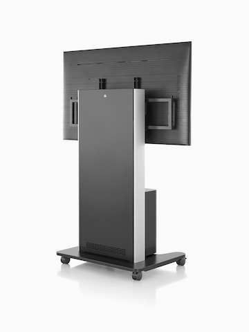 AV/VC One cart with a large digital display and webcam. Select to go to the AV/VC One product page.