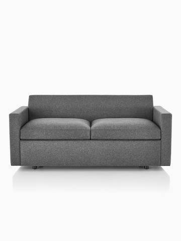 Gray Bevel Sofa.