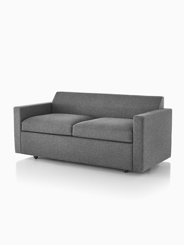 Gray Bevel Sofa. Select to go to the Bevel Sofa Group product page.