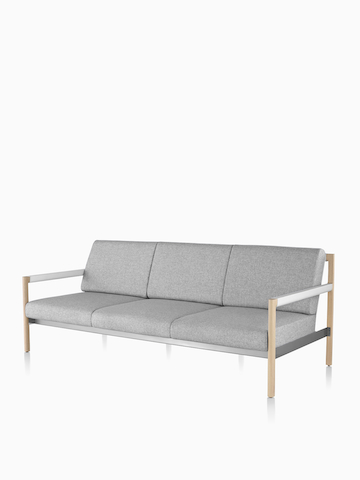 Gray Brabo sofa. Select to go to the Brabo Lounge Seating product page.