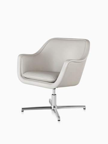 White Bumper Chair. Select to go to the Bumper Chair product page.
