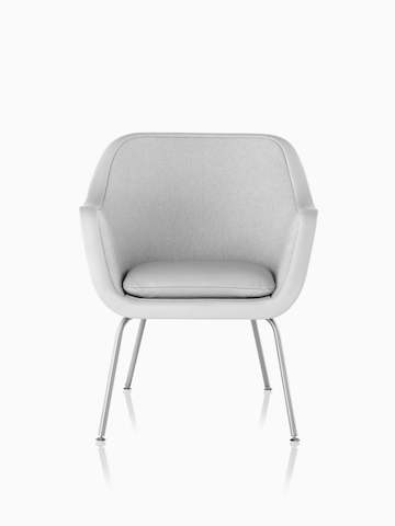 Light gray Bumper Chair.