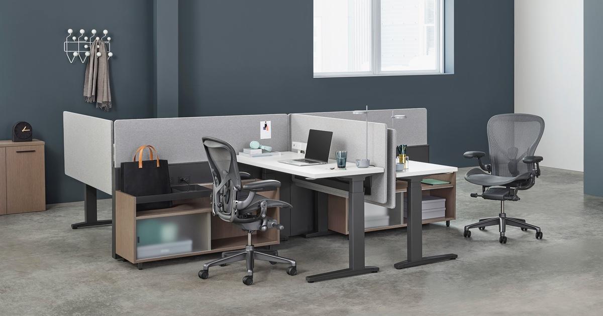 Canvas Channel Workstations Herman Miller