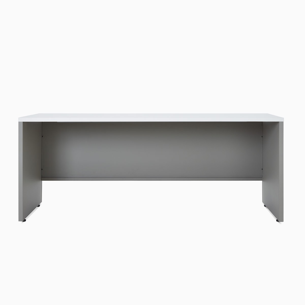 A Canvas Metal Desk partial modesty panel.