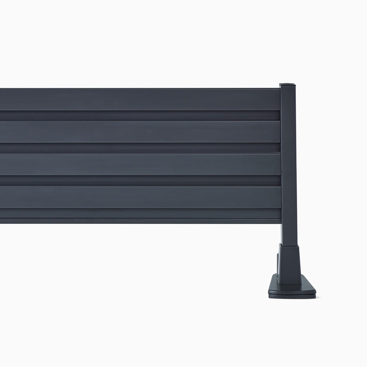 A black Surface-Attached Tool Rail.