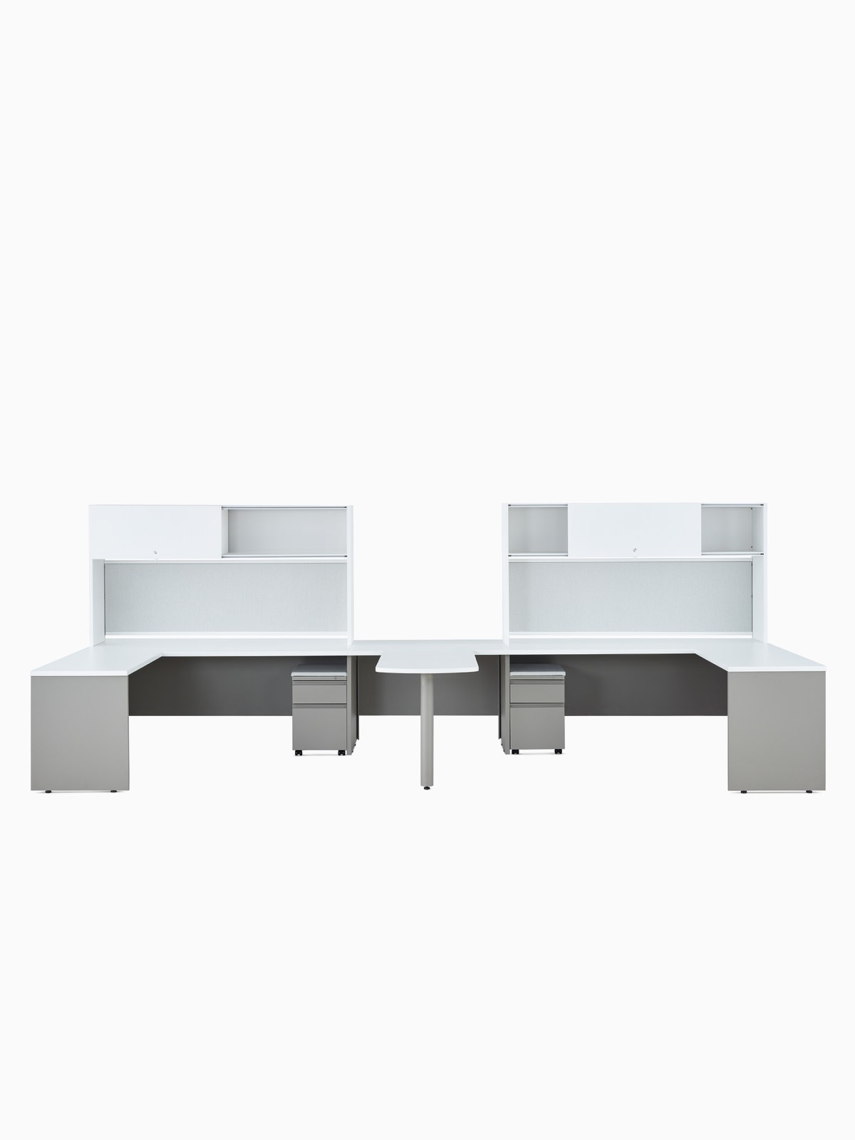 Canvas Metal Desk