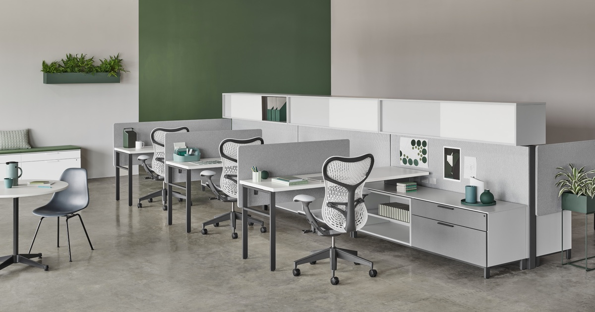 Canvas Wall Workstations Herman Miller