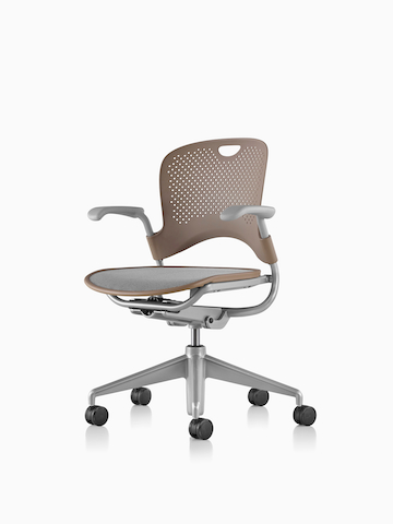 Brown Caper Multipurpose Chair. Select to go to the Caper Multipurpose Chair product page.