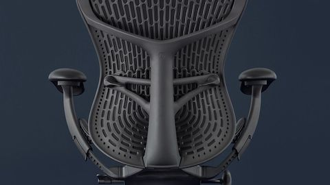 Close-up of the Mirra 2 Chair's back.
